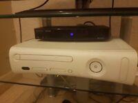 Xbox 360 & 4 Games