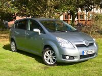 2009 TOYOTA VERSO SR 1.8 PETROL MANUL ** 1 OWNER FROM NEW ** FULL LEATHER SEATS **3 MONTHS WARRANTY