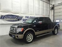 2012 Ford F-150 King Ranch W/ Moonroof, Navigation, Tailgate ste