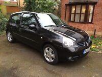 Renault Clio Hatchback 1.2 16v Campus Sport i-music 2007, 3 door Under 19000 miles. £2,400