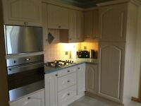 Fitted kitchen with sink, fridge and gas hob - PRICE CHANGE!