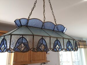 Gorgeous Stained Glass Chandelier!