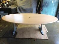 Beech Veneer, Board Room Table / Desk