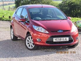 08/58 Ford Fiesta 1.4 Zetec climate, Metallic Bronze, only 32000 miles, clean car