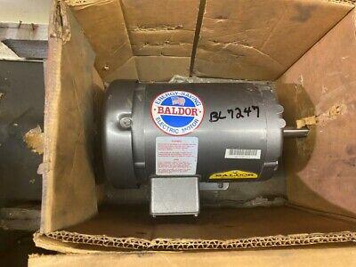 Baldor 34hp Electric Motor -new
