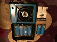 Portable gas camping stove