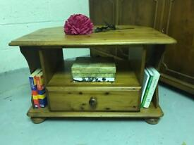 Solid pine TV unit / media cabinet solid wood