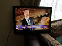 22 inch tv for sale no stand but have got wall bracket with