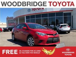 2014 Toyota Corolla LE|R-CAM|BLUETOOTH|H-SEATS|ACCIDENT FREE !