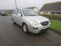 KIA CARENS 2.0L CRDI 2007 A VERY FINE EXAMPLE. DRIVES LOVELY. VG MPG. TO BE SEEN AND DRIVEN