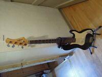 EKS Technology 'Starfire' Electric Bass Guitar