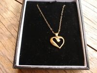 9ct Gold Pendant and Chain