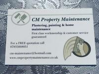 CM Property Maintenance - Plastering, Painting, Decorating & Home Maintenance Southampton
