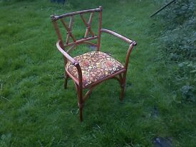 1960s Lusty & Sons Elm Elbow Chair