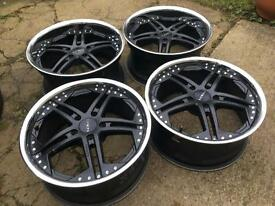 Stunning 19' Firenze Alloys 5x120 bmw Vw T5 insignia staggered