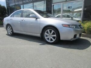 2004 Acura TSX 2.4L SEDAN W/ ALLOYS HEATED FRONT SEATS LEATHER S