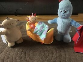 In the night garden toys £20 all