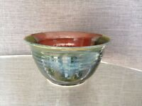 BOWL with LEAF MOTIF made in New Brunswick -