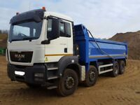 2012 MAN 8 WHEELER TIPPER - ALL PARTS FOR SALE