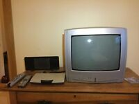 TV, aerial, free view box combo