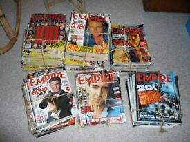 Empire Film Magazine Issues 2-9,11-213,