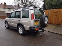 LANDROVER DISCOVERY 2.5 TD5 DIESEL XREG 7 SEATER AUTOMATIC 1 OWNER HISTORY