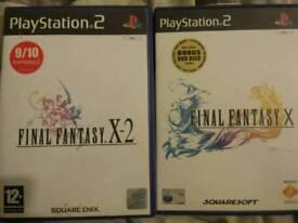 Final Fantasy PS2 Games