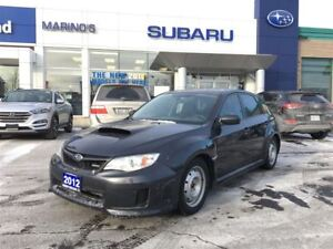 2012 Subaru WRX 5Dr 5sp Winter Rims AND Tires Included.