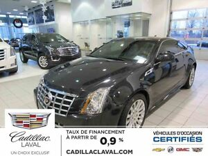 2013 CADILLAC CTS COUPE AWD-Premium