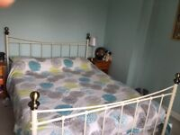 King size bed frame