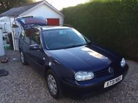 VW Golf Est. In good condition for its age. MOT Jan 2018.