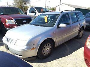 2004 Volkswagen Jetta Wagon GLS CALL 519 485 6050 CERTIFIED
