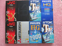VHS videotapes