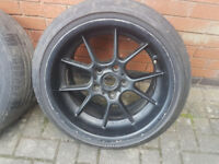 "BMW BBS RK 17"" 8,5j 10j staggered wheels alloys E30 E32 E34 E36 E24 M3 M5 5x120"