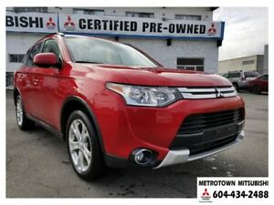 2015 Mitsubishi Outlander ES Premium 4WD; Local & No accidents!