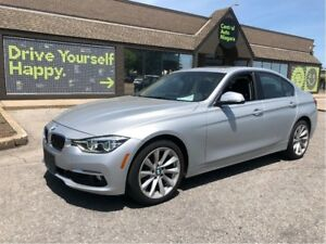 2017 BMW 3 Series 320i xDrive / AWD / SUNROOF / LEATHER