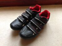 SIZE 10.5 dhb R1.0 Road Cycling Shoe and pedals
