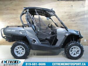 2012 Can-Am Commander 1000 XT 63,64$/SEMAINE