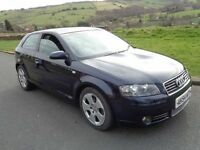 2004 Audi A3 Sport 2.0 TDI 6 Speed DSG Automatic With Paddle Shift ***ACCEPTING OFFERS*** Long MOT