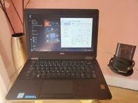 """Dell Latitude E7270 12.5"""" i5-CPU   8GB RAM   128GB SSD   Finger Print   Win10Pro"""