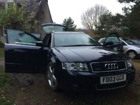 Audi A4 2.5tdi quattro avant.