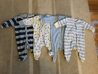 32pc Boys 0-3 months Clothes Bundle