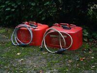 Outboard motor petrol tanks
