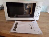 New Sainsburys Microwave Oven