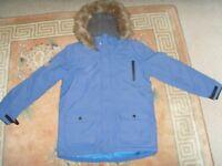 BOYS BLUE JACKET,AGE 13 YEARS - £3