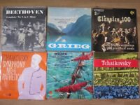 vinyls classical music x17 very good condition