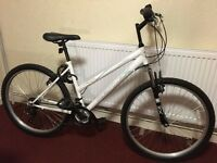 **£95 LADY OR TEEN mountain BIKE**SIZE FITS ALL**{WAS £169}{NOW£95} {BOX ALSO]**&*NEW PADLOCK&HELMET