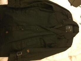 G-STAR black coat men's large