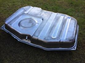 Escort RS Turbo stainless steel fuel tank.