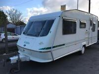 Caravan 4/5/6 berth Elddis 510/5 1999 lovely condition Clevedon